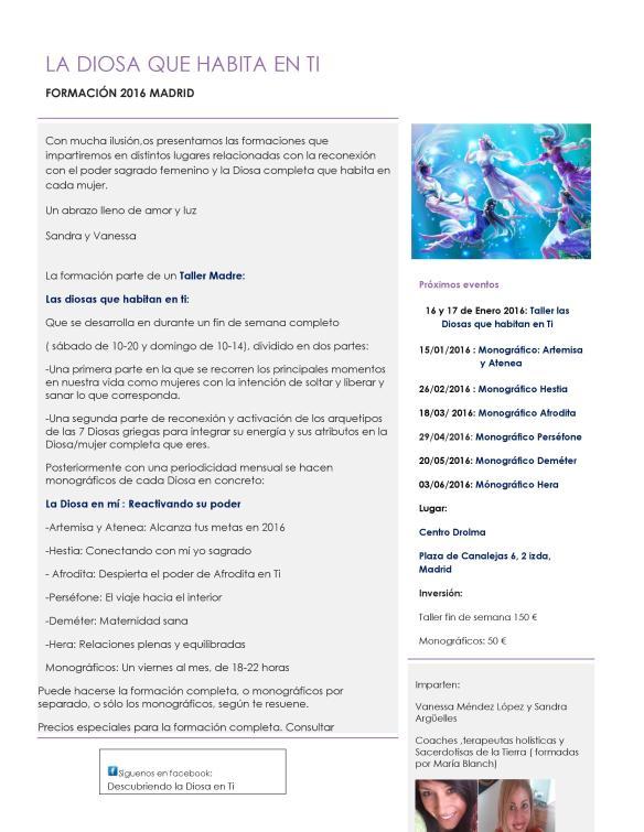 Programa 2016 madrid